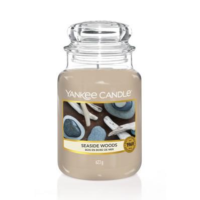 Vonná svíčka Yankee Candle velká Seaside woods classic