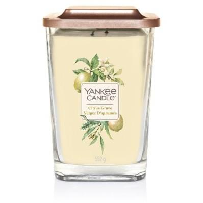 Vonná svíčka Yankee Candle velká 2 knoty Citrus grove