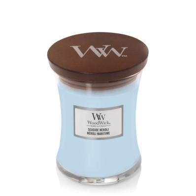 WoodWick svíčka střední Seaside Neroli