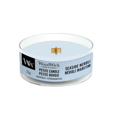 Woodwick svíčka petite Seaside Neroli