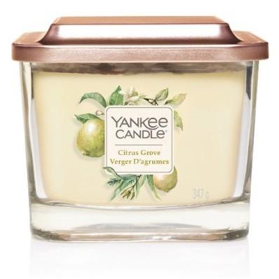 Vonná svíčka Yankee Candle střední 3 knoty Citrus grove