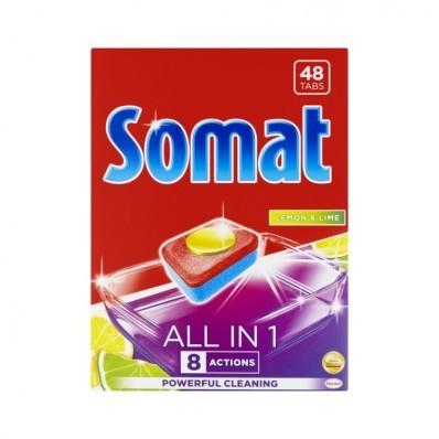Somat Tablety All in One Lemon