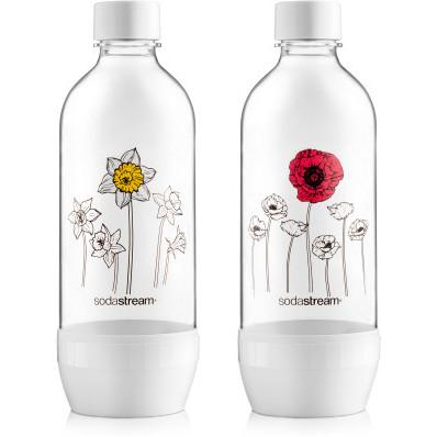 Láhev JET SodaStream Květy 2 x1 l