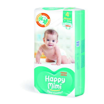 Dětské pleny Happy Mimi