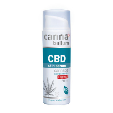 Bio pleťové sérum CBD