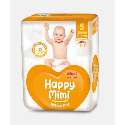 Happy Mimi dětské plenky Active Dry