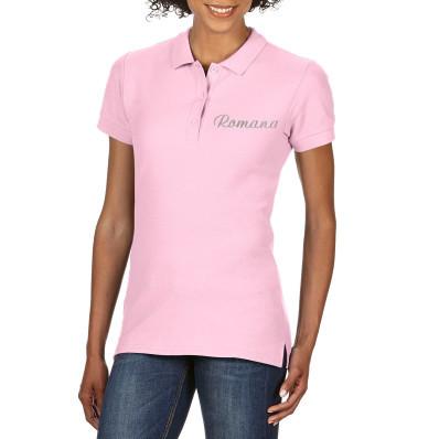 Dámské polo tričko personalizované