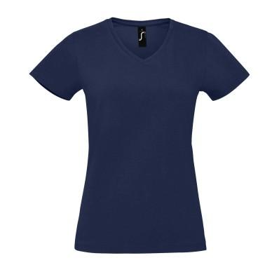 Dámské bavlněné tričko do V