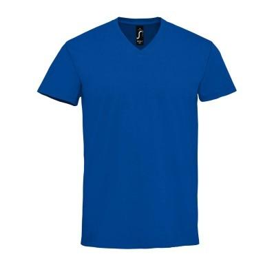 Pánské bavlněné tričko do V