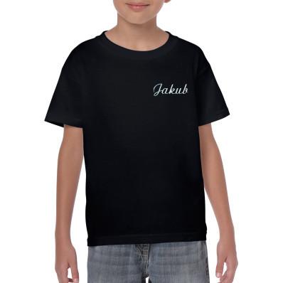 Dětské bavlněné tričko personalizované