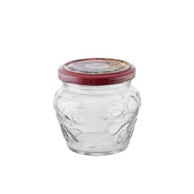 Sada zavařovacích sklenic se šroubovacím víčkem