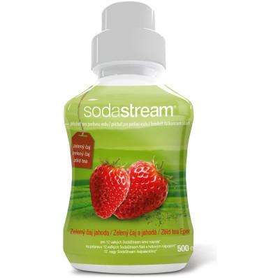 Příchuť do SodaStream Zelený čaj - jahoda