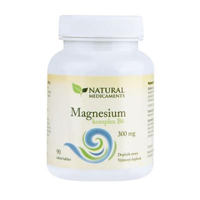 Magnesium (hořčík) B6 komplex 90 tablet