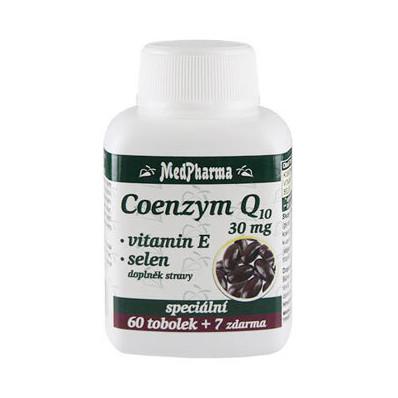 Coenzym Q10 30 mg + vitamín E + selen 67 tablet