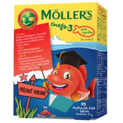 Möller´s želé rybičky 45 ks