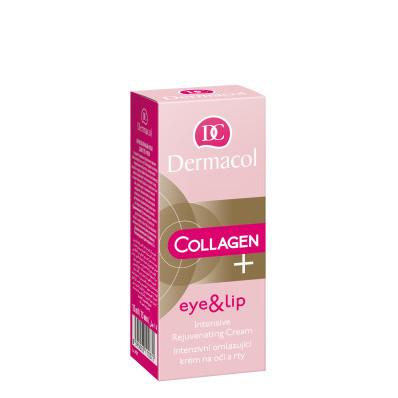 Dermacol Collagen plus Intenzivní omlazující krém na oči a rty