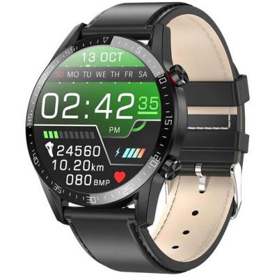 Chytré hodinky WT35BLL - Black Leather