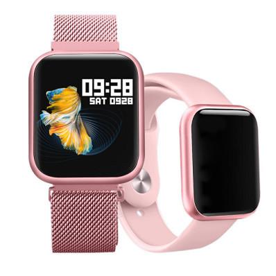 Chytré hodinky W08P + silikonový řemínek