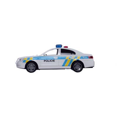 Auto policie 15 cm se zvukem/světlem na setrvačník