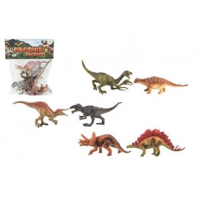 Dinosaurus plast 15 - 16 cm 6 ks