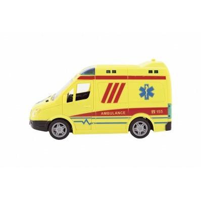 Auto ambulance 20 cm na setrvačník se zvukem/světlem