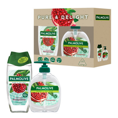 Dárková sada Palmolive Pure & Delight Pomegranate