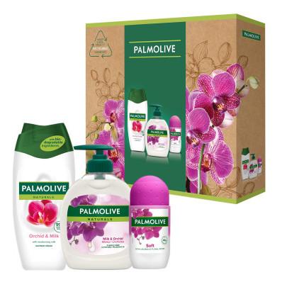 Dárková sada Palmolive Triple Naturals Orchid