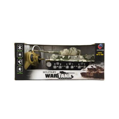 Tank RC TIGER I plast 25 cm se zvukem a světlem