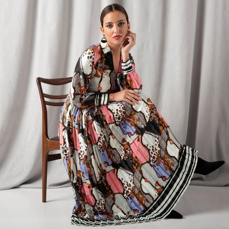 Dlouhé rafinované šaty