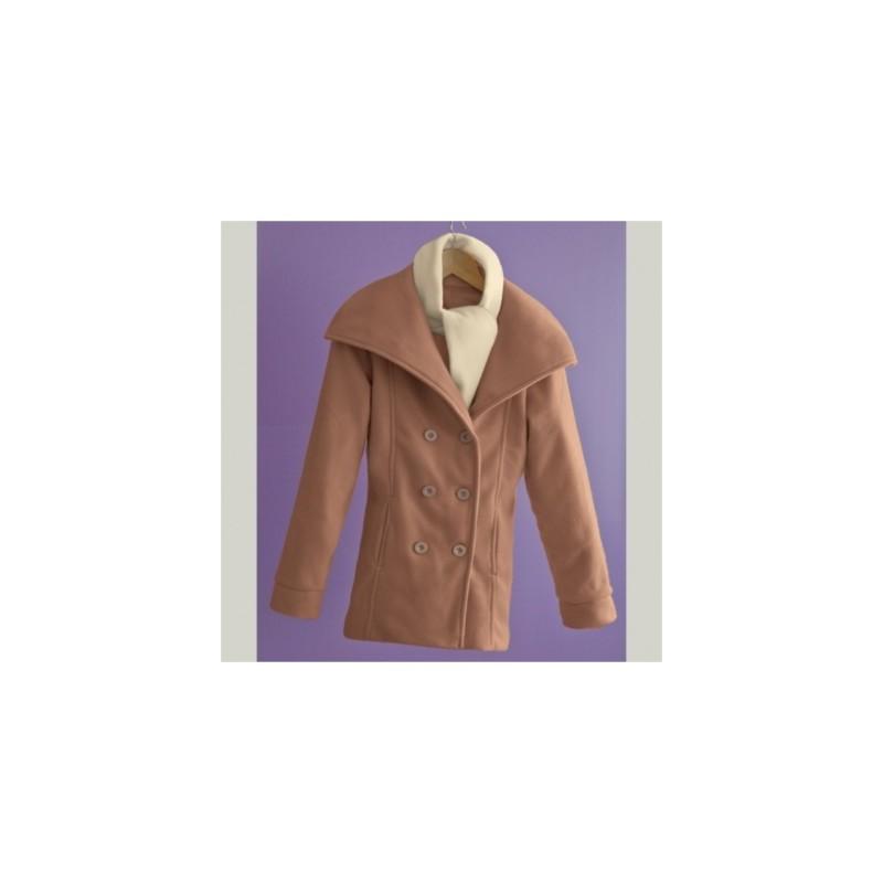 Kabát + šál