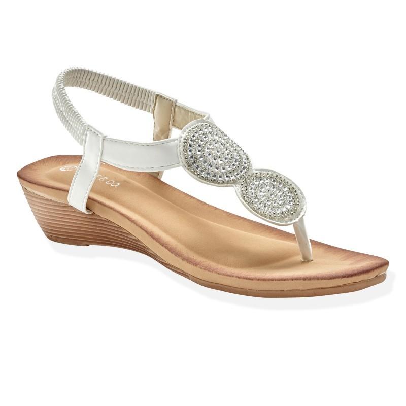 Sandále na kline, originálne remienky