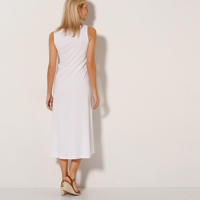 Dlouhé macramé šaty