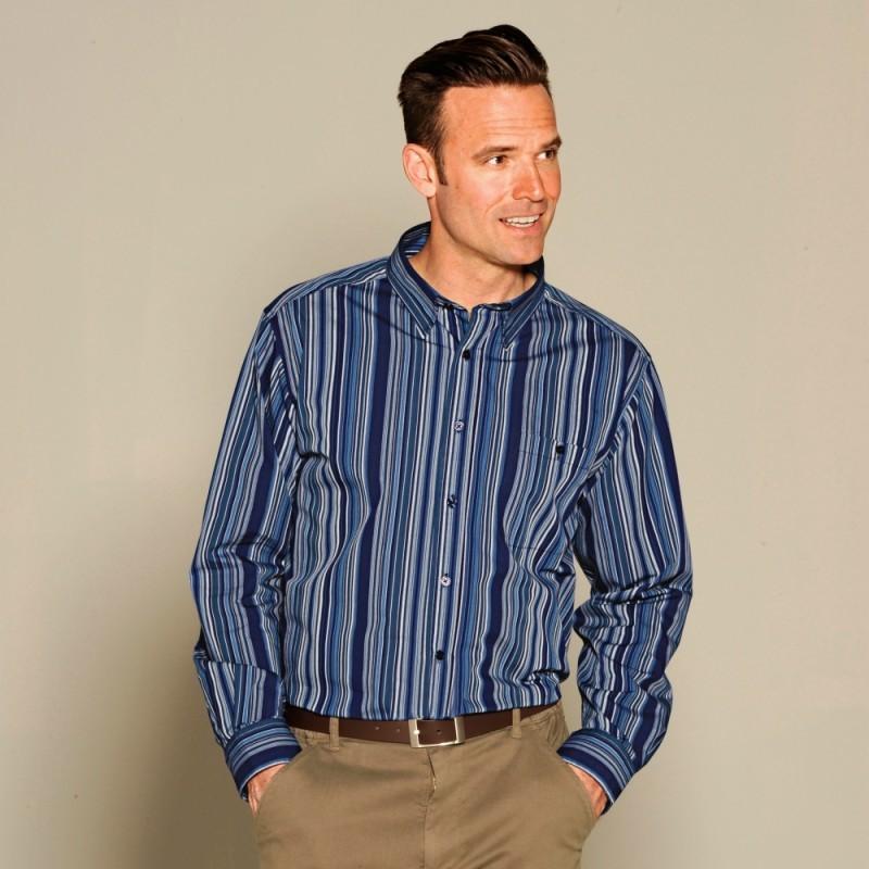 Kvalitní pánská košile s dlouhými rukávy