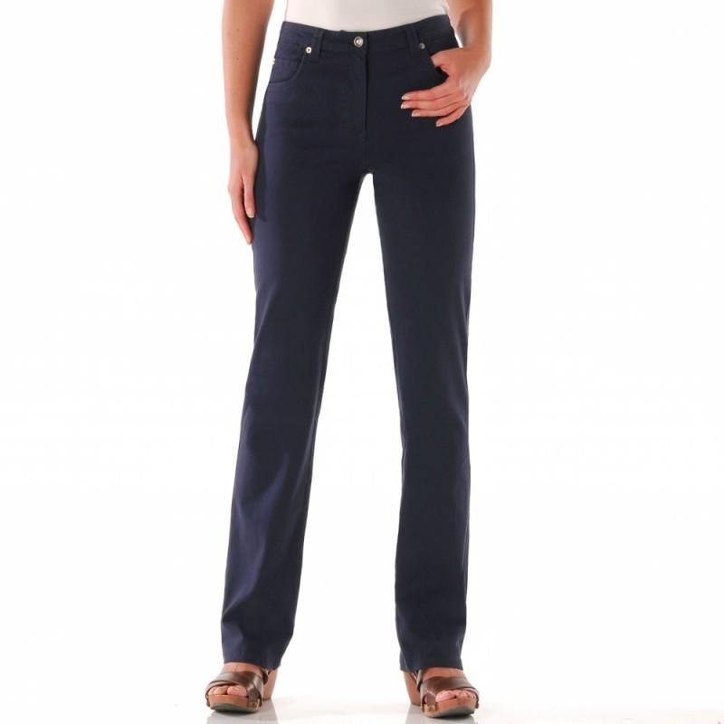 Nohavice pre úzke boky na zips