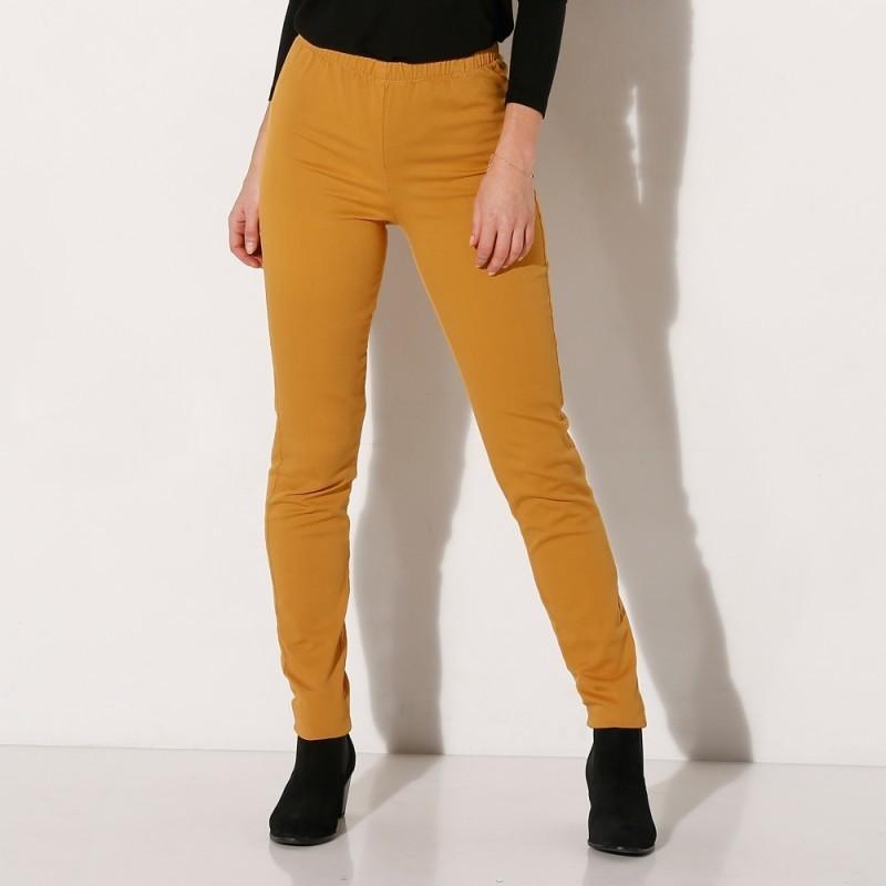 Strečové džegíny, vnitřní délka nohavic 76 cm