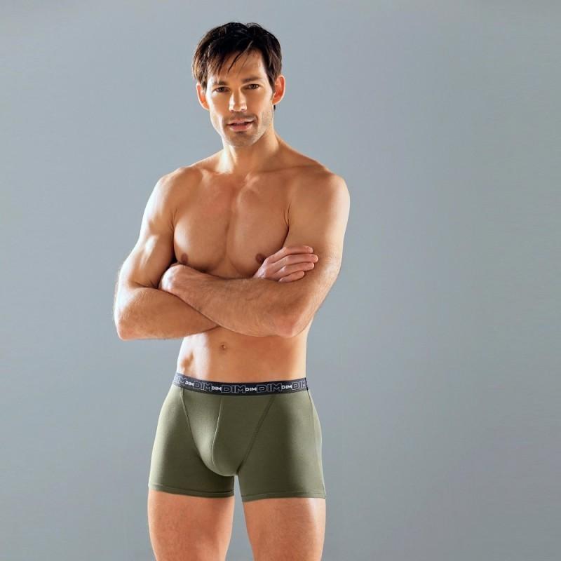 Jednobarevné boxerky, sada 3 ks