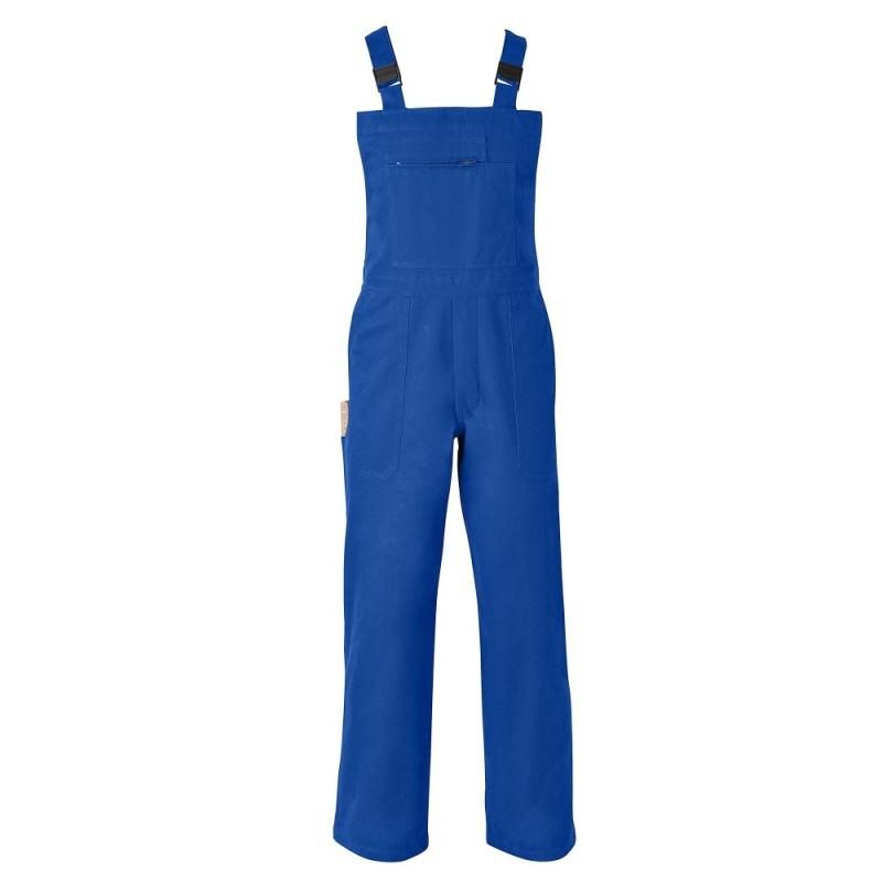 Pracovní kalhoty s laclem, 50% bavlna