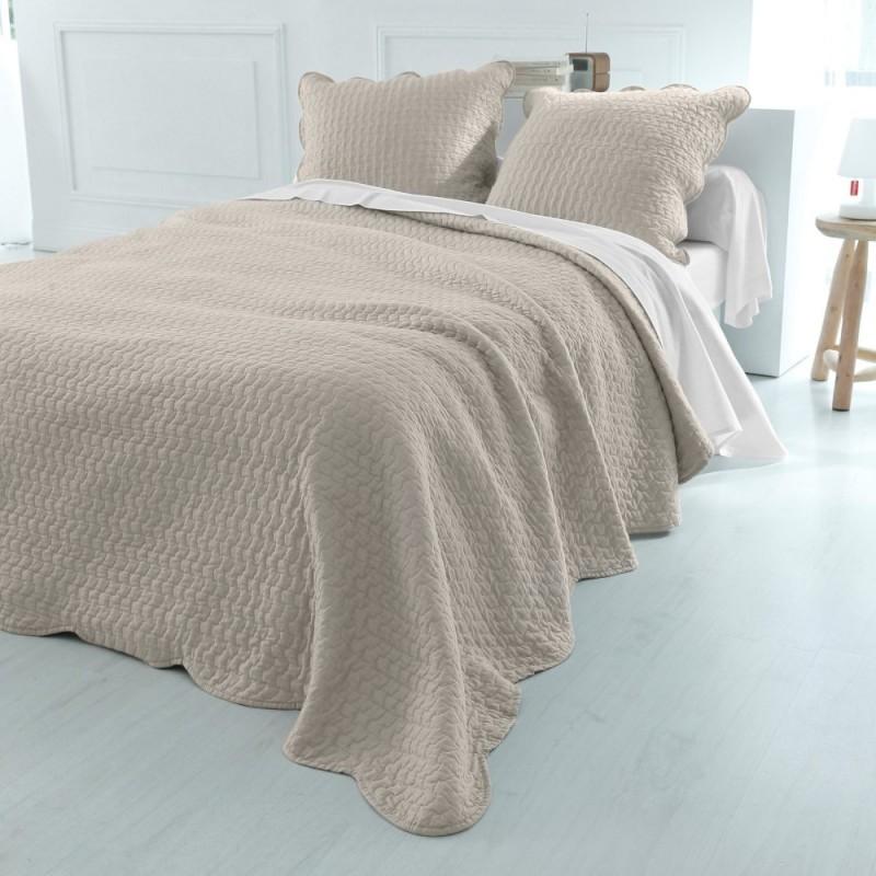 Přehoz na postel jednobarevný
