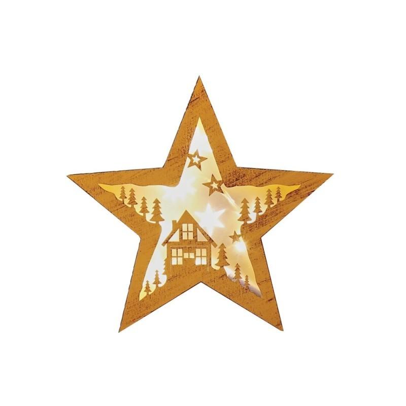 Dekorácia hviezda