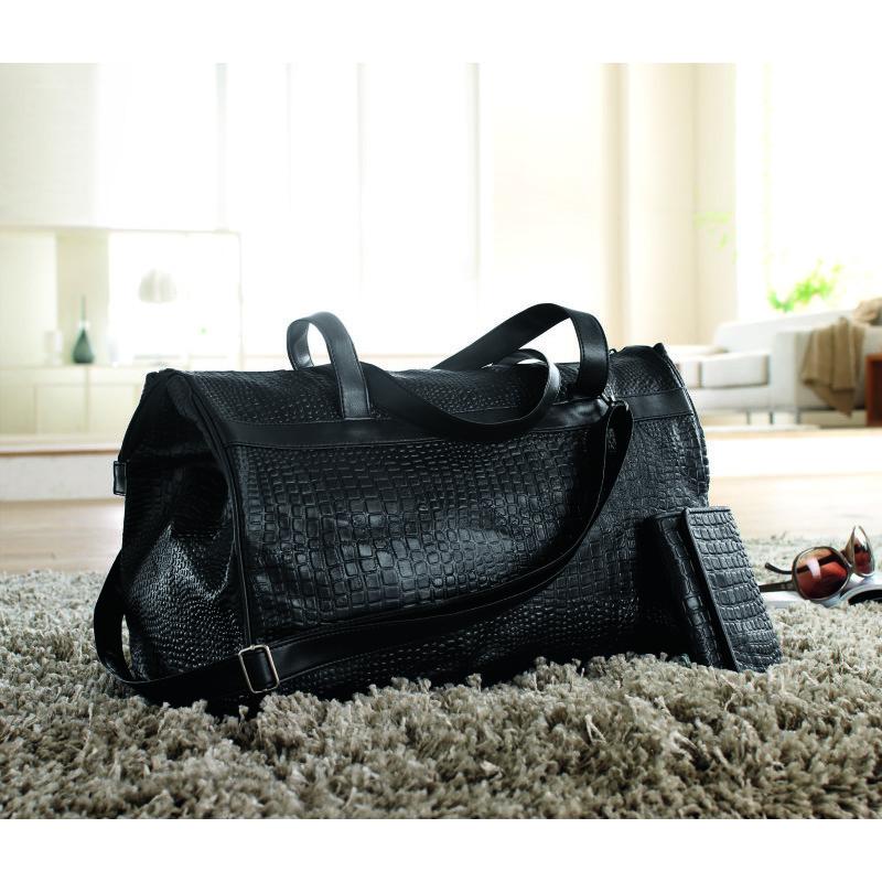 maxi taška+peněženka kožená