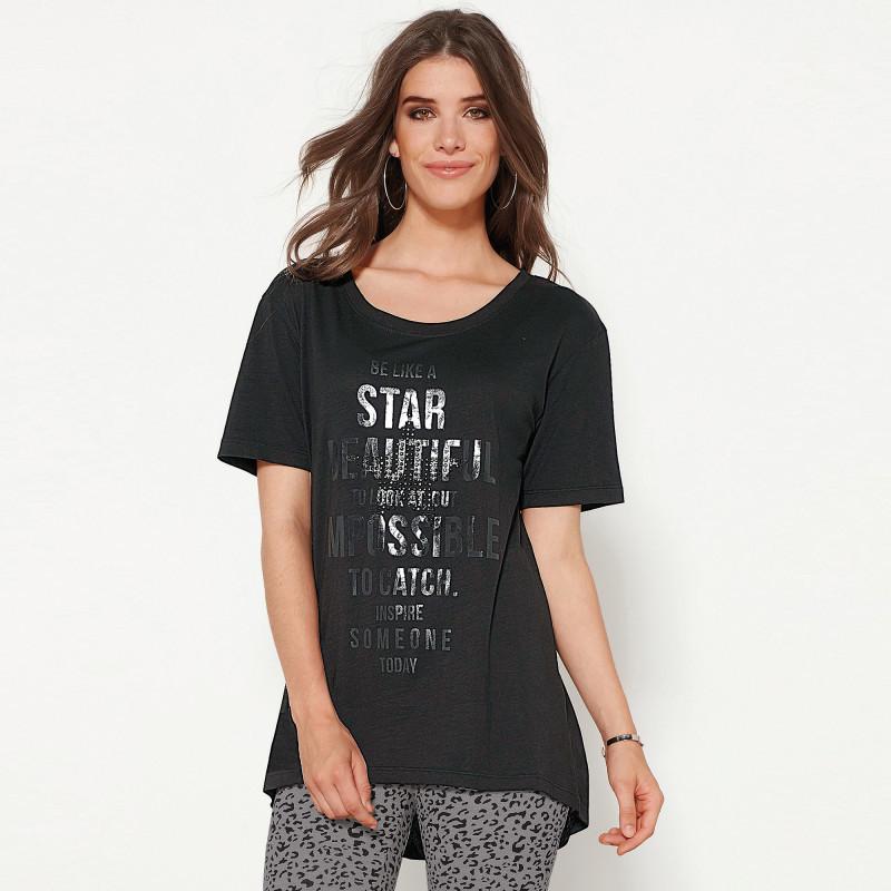 Tričko s krátkymi rukávmi a potlačou