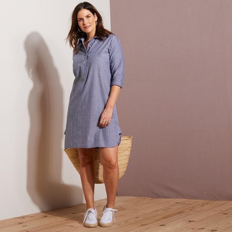 Šaty ľan/bavlna