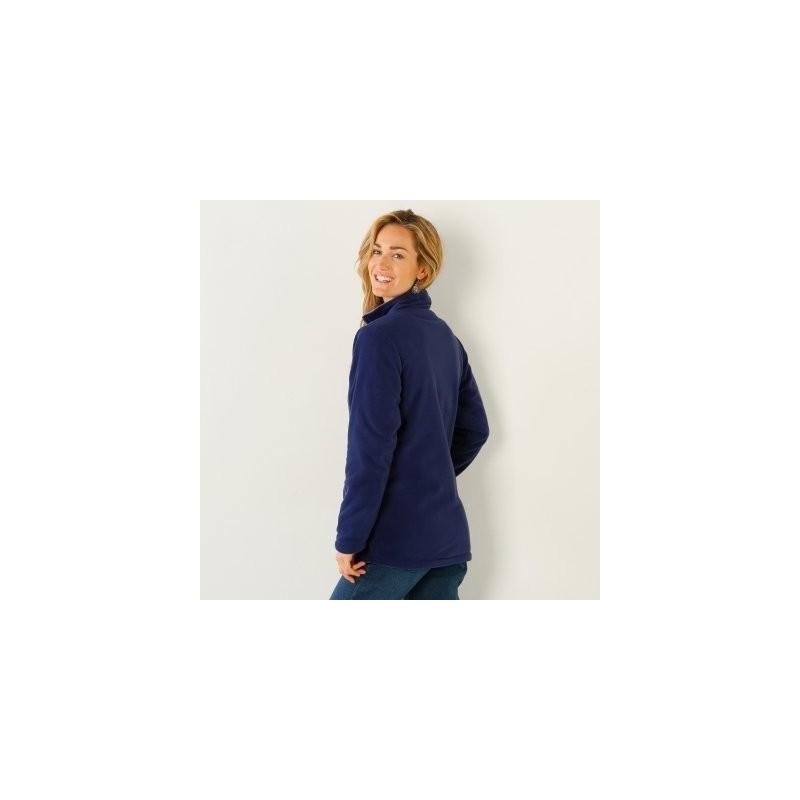 Fleecová obojstranná bunda