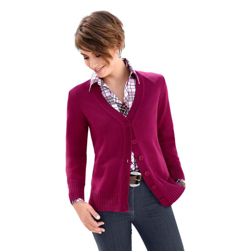 Úpletový kabátek Collection L.