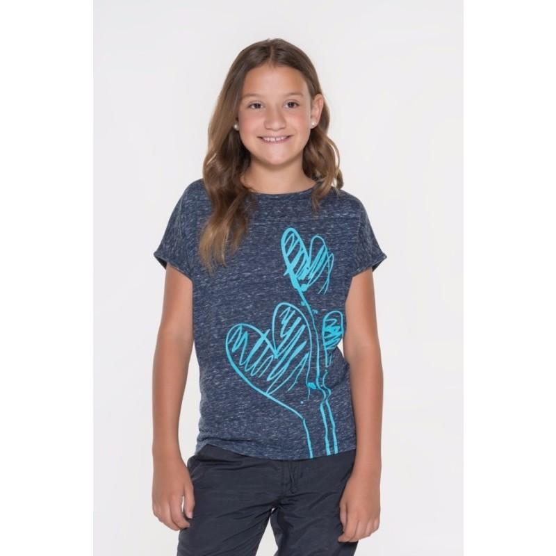 Dievčenské tričko s krátkym rukávom Sam
