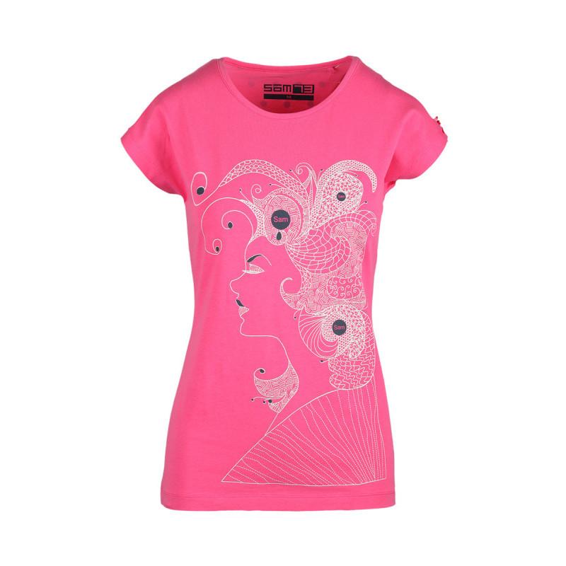 Tričko s abstraktním motivem