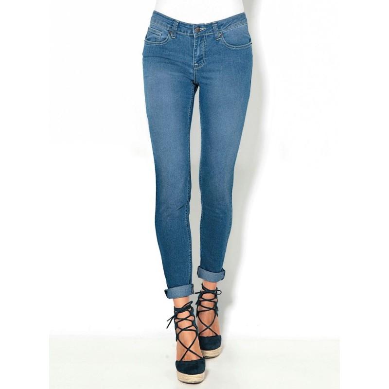 Úzke skinny džínsy s 5 vreckami