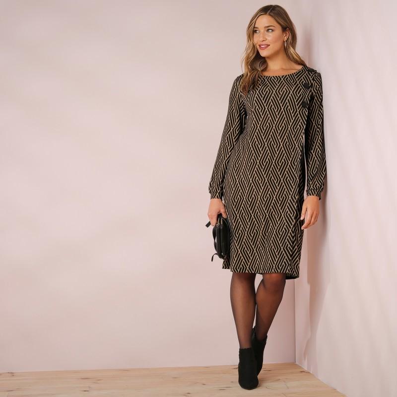 Šaty s knoflíčky