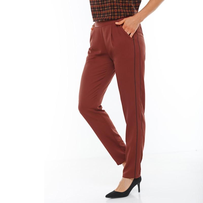 Nohavice krepové
