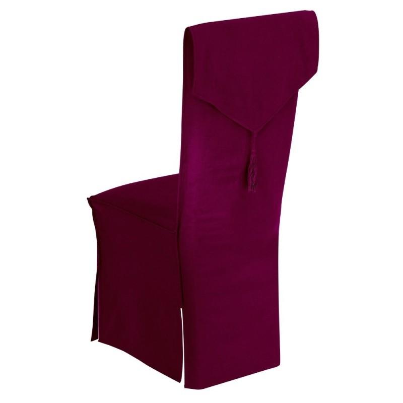 Poťah na stoličky so strapcami